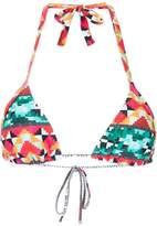 Lygia & Nanny printed bikini top