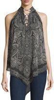 Haute Hippie The Stevie Silk Tank Blouse, Multi