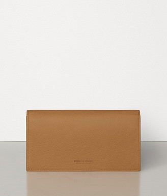 Bottega Veneta CONTINENTAL WALLET IN GRAINY CALF