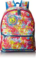 Skechers Big Girls' Neon Splatters Backpack