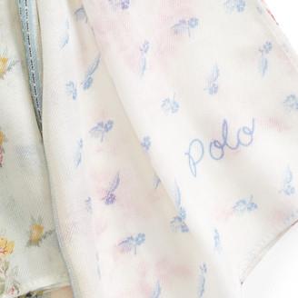 Ralph Lauren Patchwork Floral Scarf