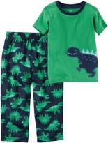 Carter's Toddler Boys' 2-Piece Cotton & Jersey PJs 343G085