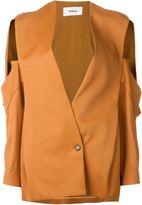 Chalayan open pocket jacket - women - Spandex/Elastane/Acetate/Cupro/Viscose - 42