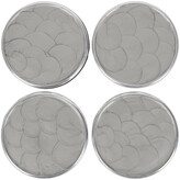 Julia Knight Classic Coaster Set - Platinum