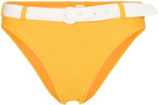 Solid & Striped Rachel belted bikini bottoms