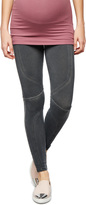 A Pea in the Pod David Lerner Secret Fit Belly Faux Leather Maternity Leggings