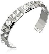 """Rebecca Rebel"""" Rhodium-Plated Crystal Cuff Bracelet, 2.5"""""""