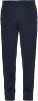 Balenciaga Slim-fit double-faced wool-blend trousers