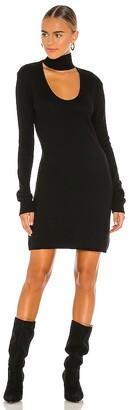 Pam & Gela Choker Cutout Neck Dress