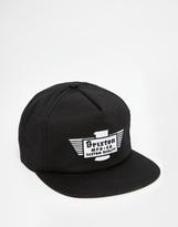 Brixton Cylinder Snapback Cap - Black