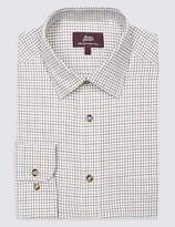 Marks and Spencer Pure Cotton Regular Fit Shirt with Pocket