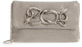 Whiting & Davis Serpent Mesh Clutch - Grey