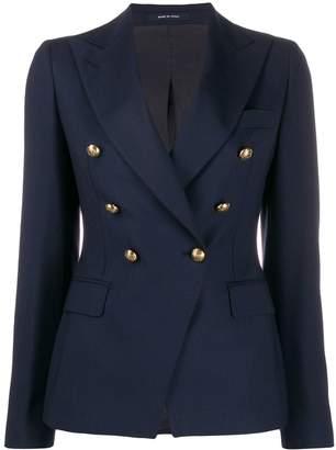 Tagliatore military style blazer