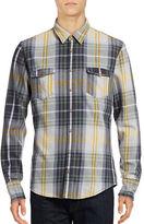 Boss Orange Plaid Flannel Slim Fit Sport Shirt