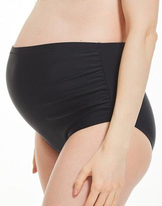 Figleaves Belle Maternity Over Bump Polka Dot Bikini Bottom