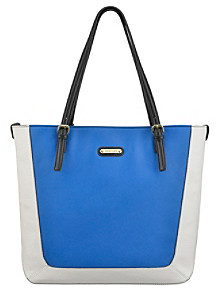AK Anne Klein Perfect Tote Colorblock Tall Large Tote