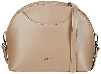 Nat & Nin APPOLINE women's Shoulder Bag in Beige