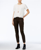 Hudson Cropped Militant Skinny Cargo Jeans