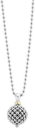 "Lagos Caviar Forever Ball Pendant Necklace, 34""L"