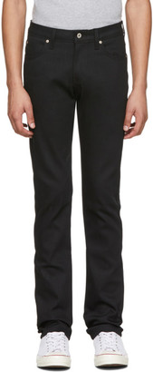 Naked & Famous Denim Denim Denim Black Stretch Skinny Guy Jeans