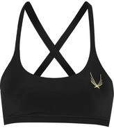Lucas Hugh Core Performance Stretch Sports Bra - Black