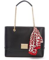 Love Moschino Women's Chain Tote Bag Black