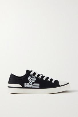 Isabel Marant Binkoo Logo-print Canvas Sneakers - Black