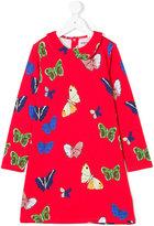 Mini Rodini butterflies motif dress