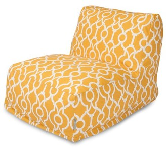 Majestic Home Goods Indoor Outdoor Citrus Athens Chair Lounger Bean Bag 36 in L x 27 in W x 24 in H