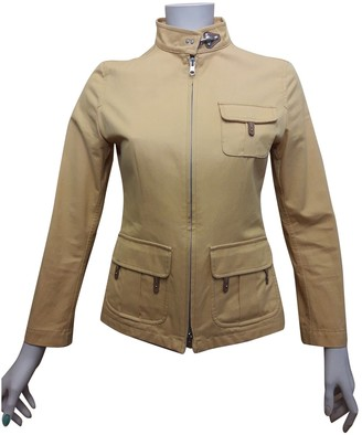 Fay Camel Cotton Jacket for Women