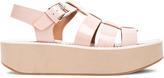 Flamingos Leather Citrus Sandals