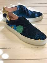 Camilla Elphick HEART AND SOUL SNEAKER IN DISCO BLUE ORCHID