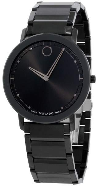 Movado Sapphire 0606882 Stainless Steel Quartz 40mm Mens Watch