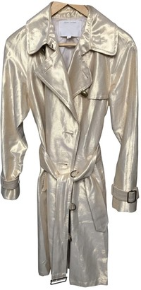Marc Jacobs Gold Linen Trench coats
