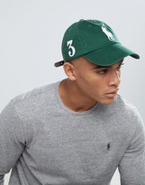 Polo Ralph Lauren Player Baseball Cap Large Polo Player In Dark Green