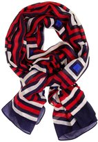 Jonathan Adler George the Second Scarf - Blue