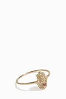 Sydney Evan Baby Hamsa Ring