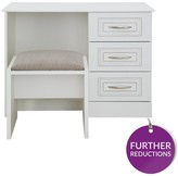 Consort Furniture Limited Dorchester Ready Assembled Dressing Table And Stool Set