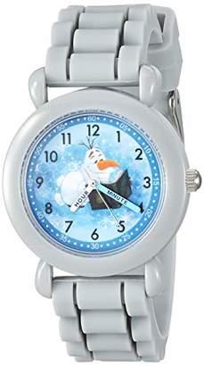 Disney Boys' Frozen 2 Analog Quartz Watch with Silicone Strap