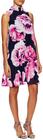 Eliza J-floral print gathered shift dress