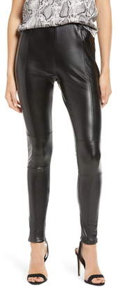 Bishop + Young Faux Leather Leggings