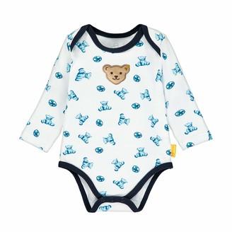 Steiff Baby_Boy's mit Teddybarprint Bodysuit