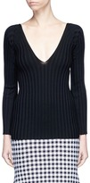Rosetta Getty Rib knit sweater