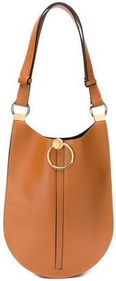 Marni curved flat shoulder bag