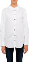 Equipment Reece Eye Embroidered Cotton Shirt