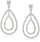 """Carolee The Plaza"""" The Plaza Gypsy Hoop Clip-On Earrings"""