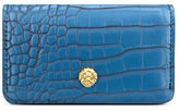 Anne Klein Small Crocodile Embossed Card Case