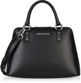 Armani Jeans Black Signature Bowler Bag