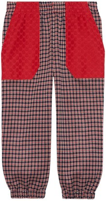 Gucci Children's Houndstooth cotton pant