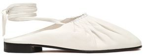 3.1 Phillip Lim Nadia Lace-up Leather Ballet Flats